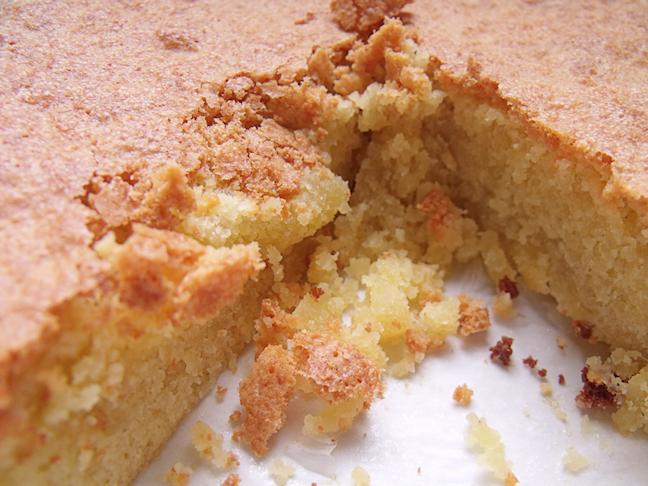 Une recette de gâteau sans gluten aux amandes