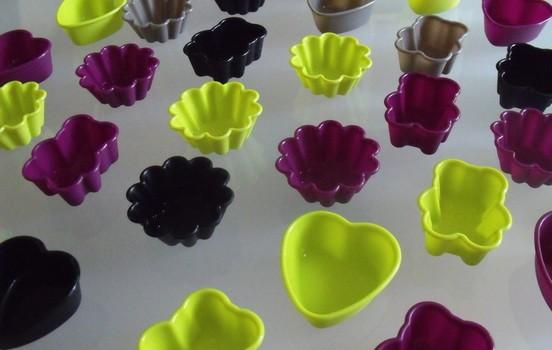 ma collection de mini-moules en silicone