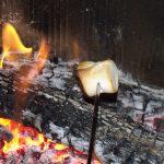 Chamallows au feu de bois