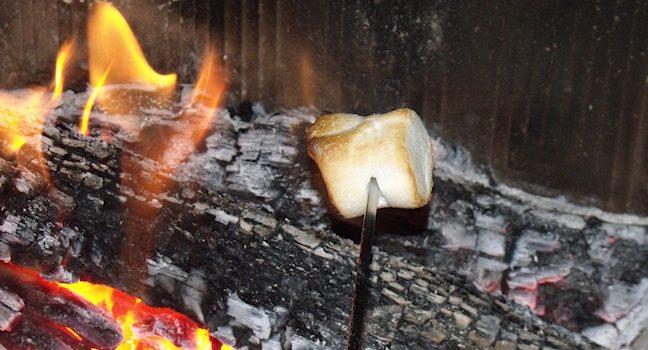 chamallow feu de bois