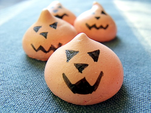 Oh, les petites citrouilles à croquer pour Halloween