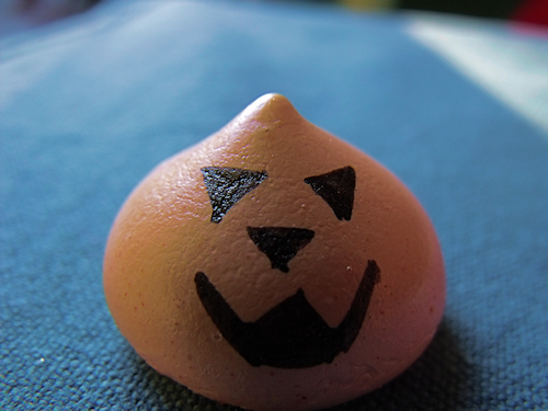 une idée de recette de meringue pour halloween
