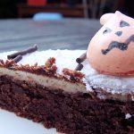 Gâteau d'Halloween aux araignées