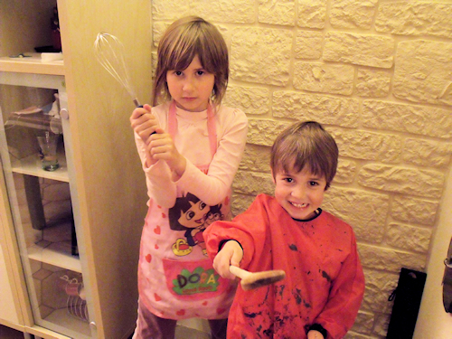 gateau d'halloween a faire avec les enfants