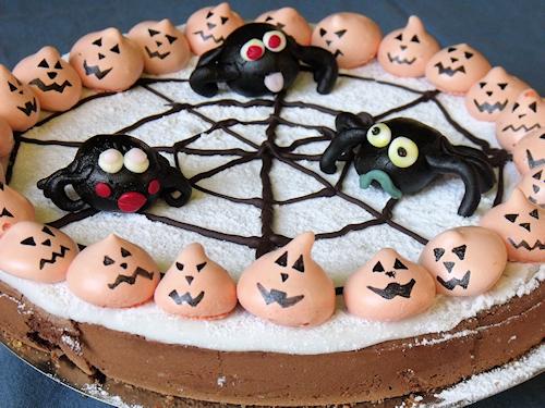 idée de gâteau facile pour halloween à faire avec les enfants