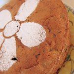 Moelleux chocolat – marrons, dés de poires