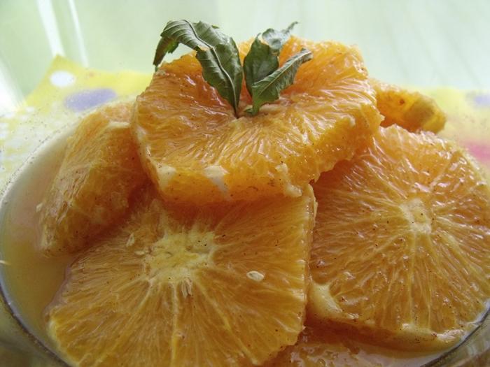carpaccio d'oranges