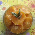 Carpaccio d'oranges façon orientale