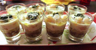 recette originale de verrine salée