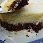 Cheesecake Niseema : coco-chocolat blanc