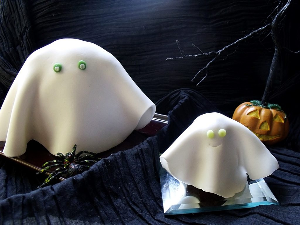 gateau fantome en pate a sucre facile a faire