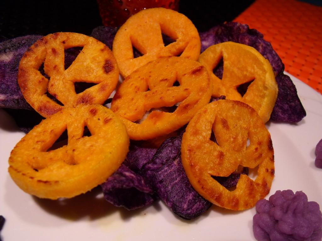 halloween salé, variations autour de la patate (5)