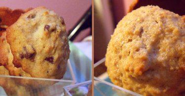 cookies aux châtaignes