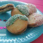 Sandwich-cookies à l'amande et noix de coco