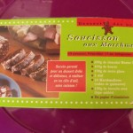 Marmaillons et Saucisson (oui mais saucisson au chocolat)