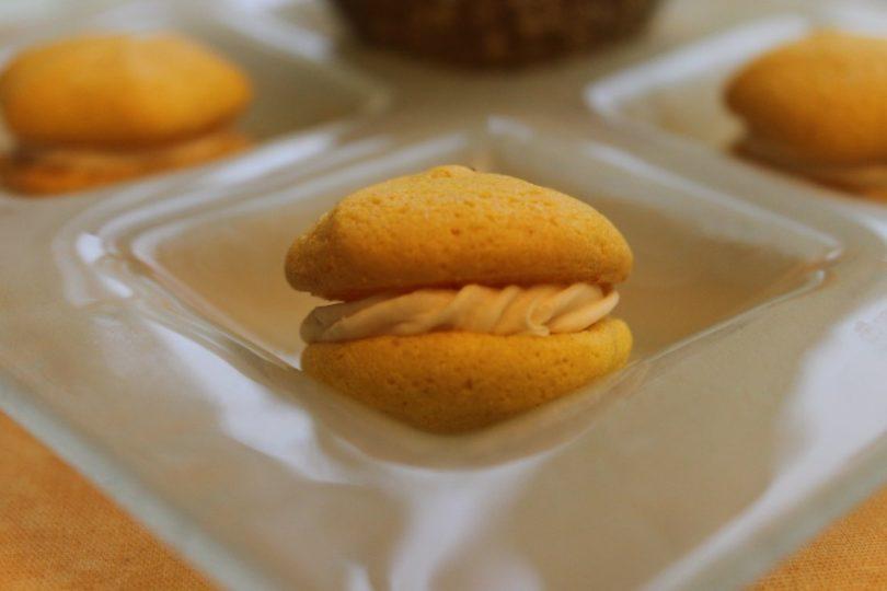 macarons citron-noisette