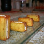 Bouchées pesto-parmesan, au chèvre doux