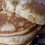Pancakes au beurre de cacahuètes….