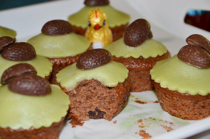 cupcakes aux oeufs de paques