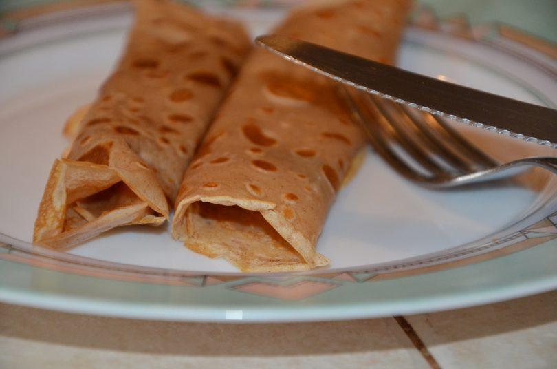 crèpes à la farine de châtaignes
