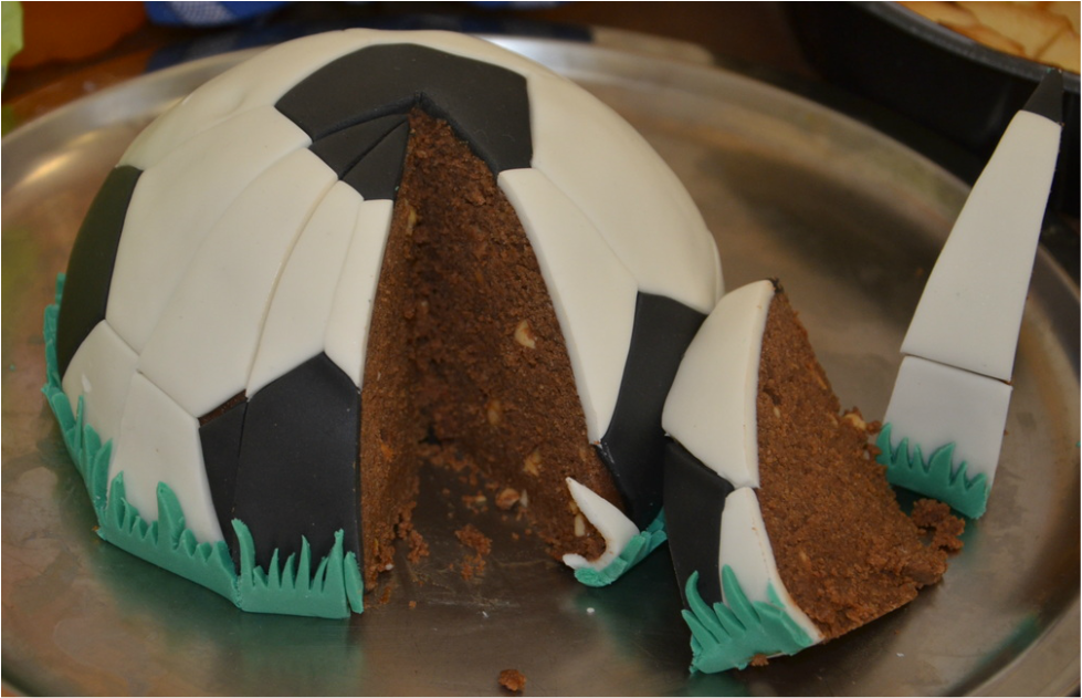 Gâteau Ballon De Foot Sans Moule Do You Cake