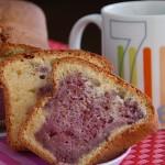 Cake aux framboises (recyclage de blancs d'œufs)
