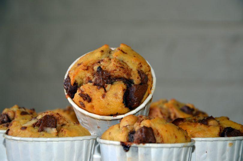muffins au pralin
