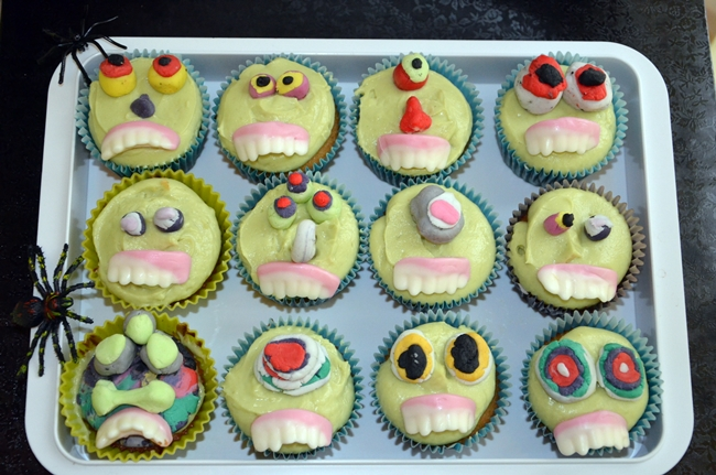 Cupcakes d'Halloween, une recette à faire avec les enfants