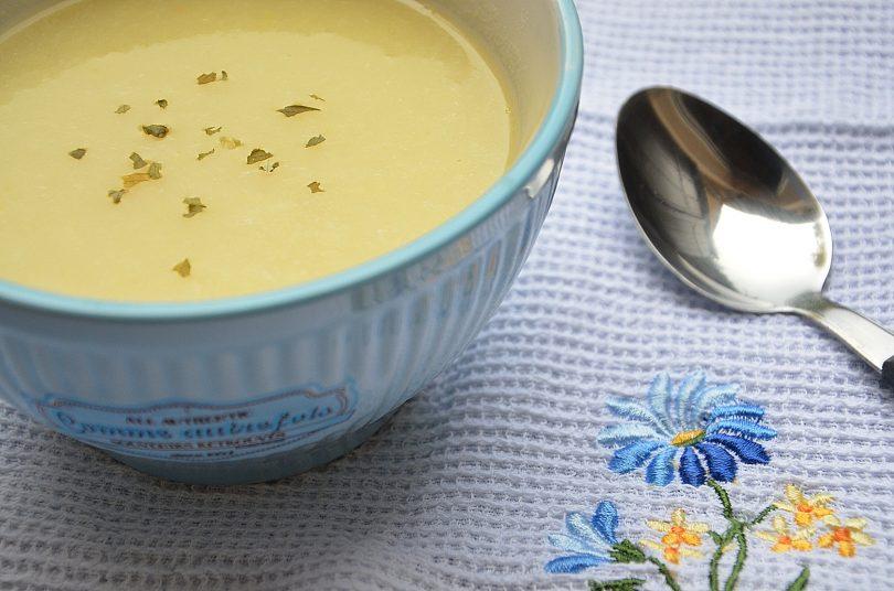 soupe de fondue de poireaux