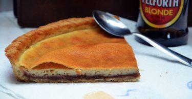 Une tarte originale qui mélange bière et crème de marrons
