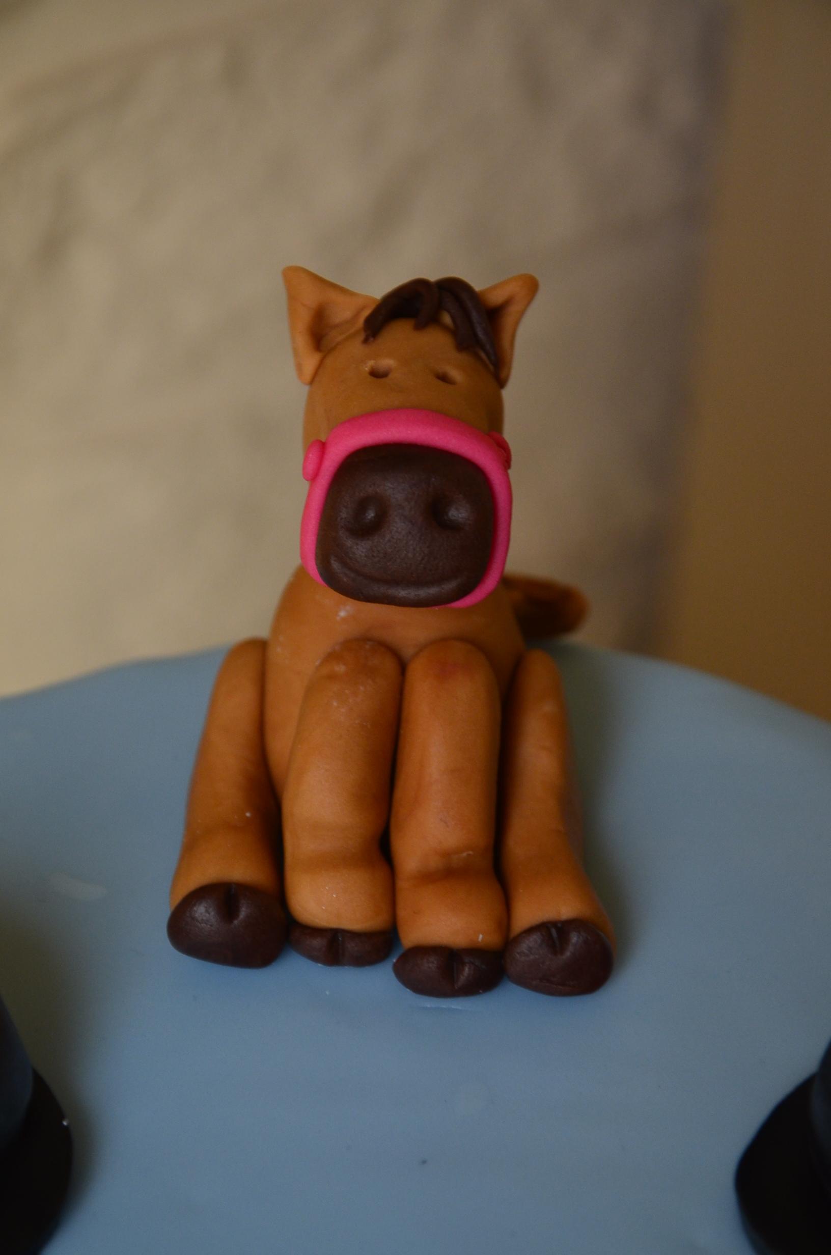 gâteau poney lilou lenny (2)