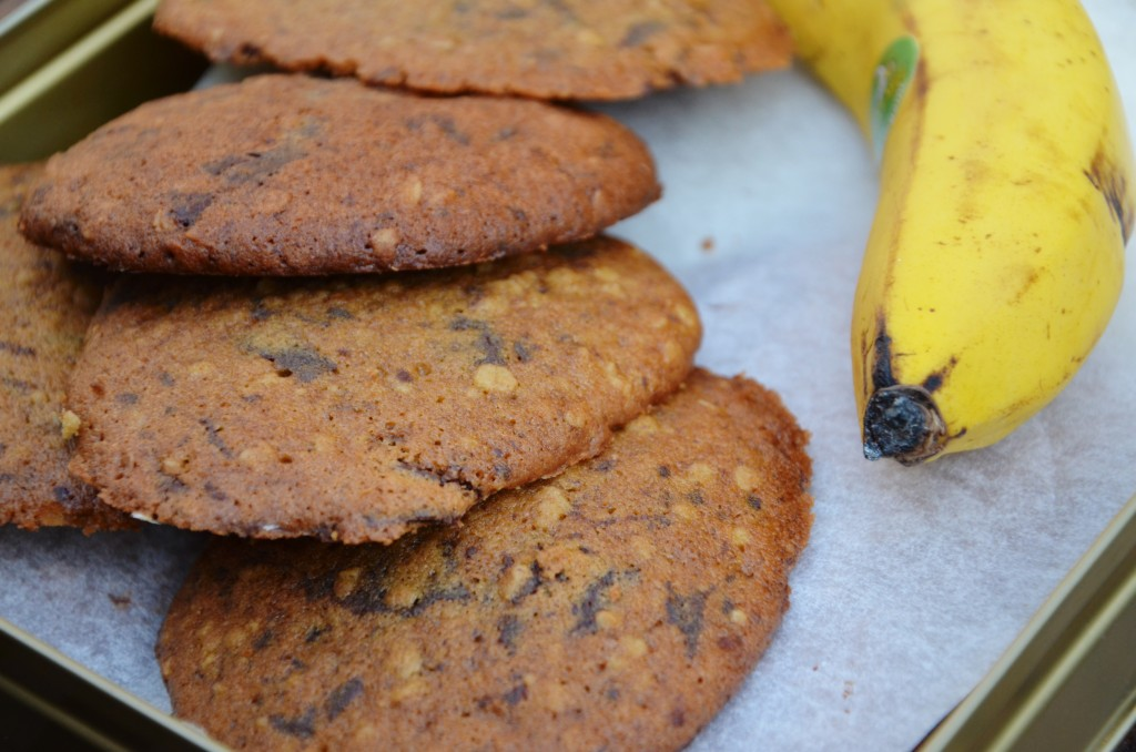 cookies minute banane