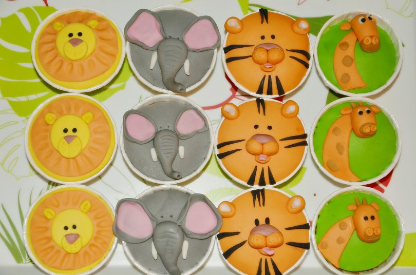 cupcakes jungle
