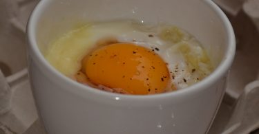 oeuf cocotte recette