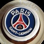 2 Idées de Gâteau PSG en pâte à sucre