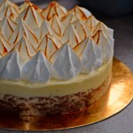 Entremets chocolat-citron façon tarte au citron