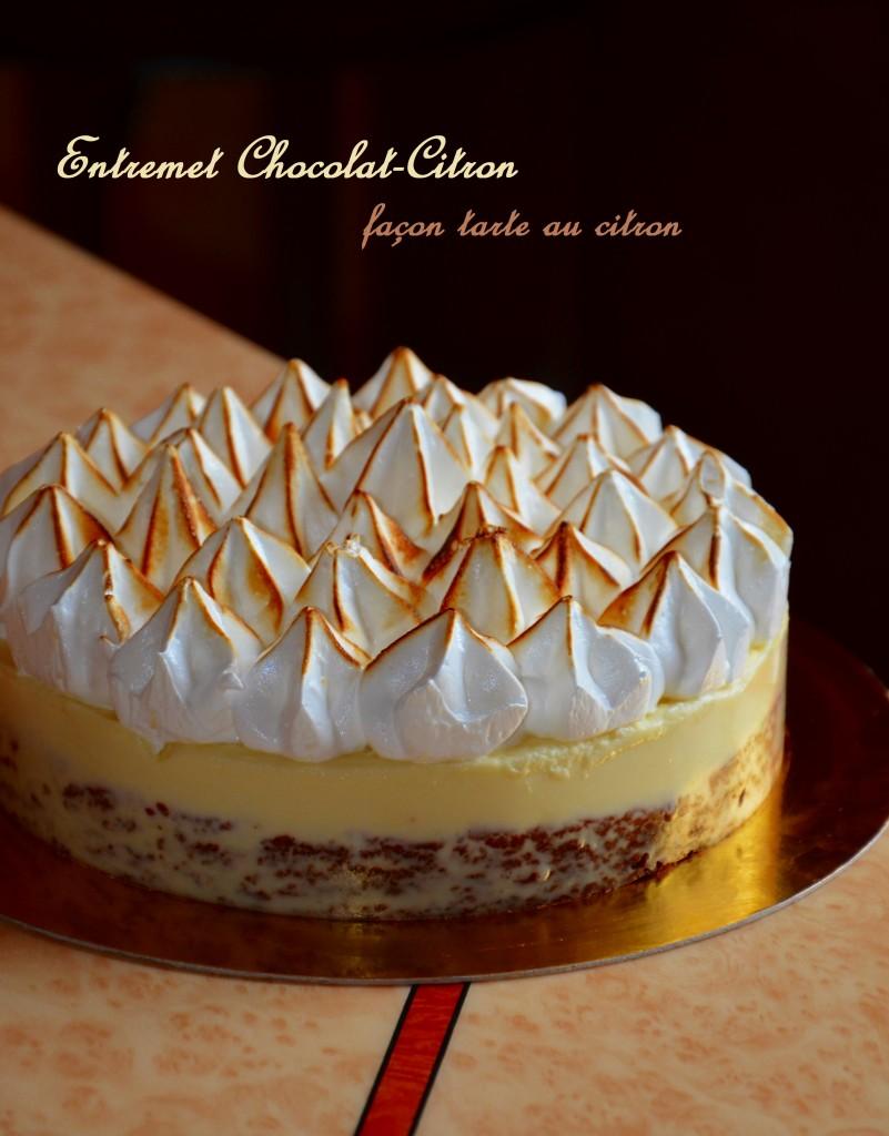 entremet chocolat-citron façon tarte au citron (2)