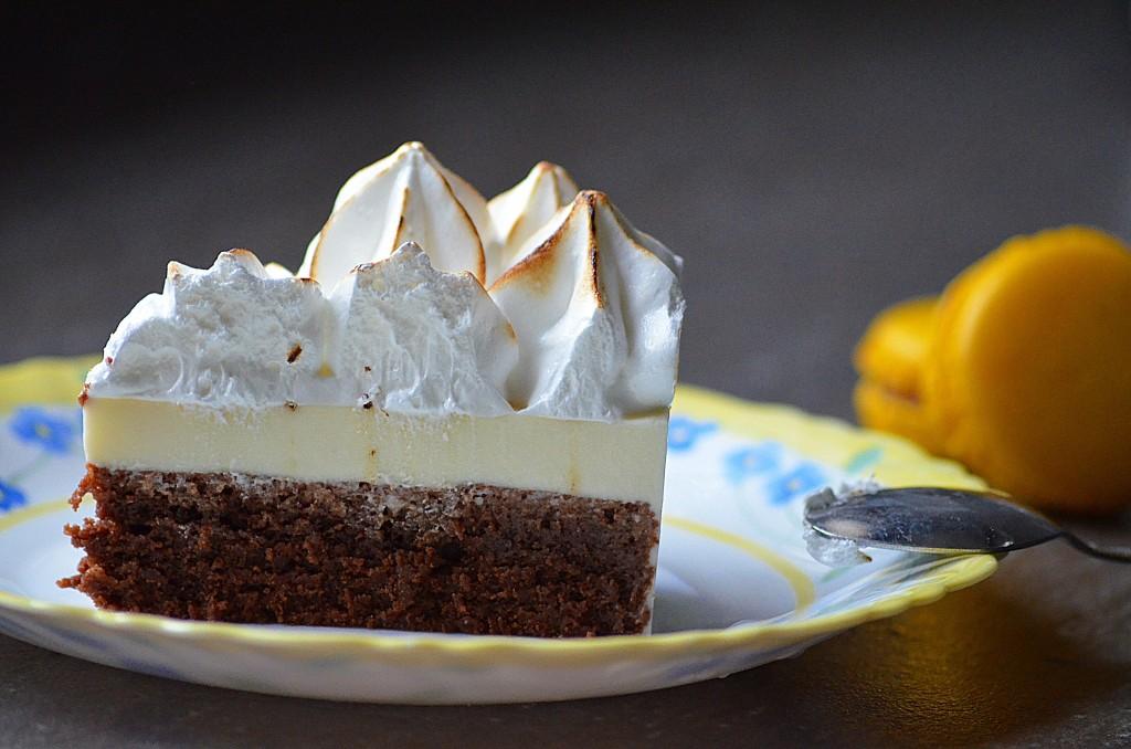 entremet chocolat-citron façon tarte au citron (4)