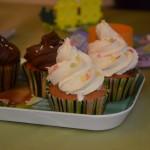 Cupcakes aux pépites de chocolat / chocolat blanc