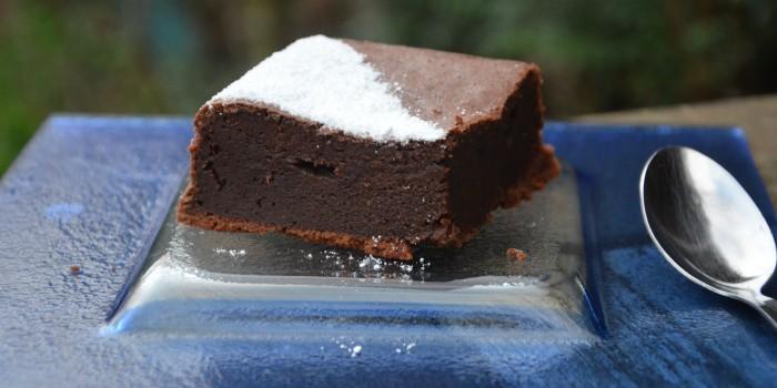 fondant chocolat aux haricots rouges