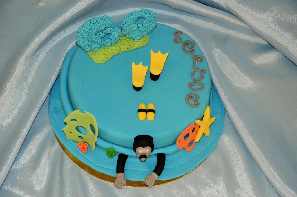 gâteau plongée sous-marine (6)bis
