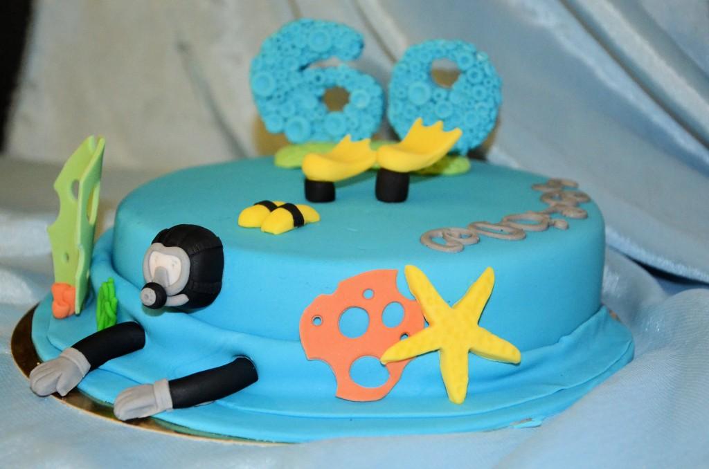 gâteau plongée sous-marine (7)bis
