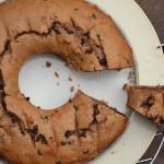 Moelleux aux marrons, poire et chocolat