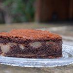 Fondant chocolat aux poires poêlées au rhum