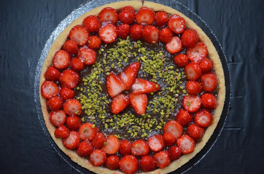 tarte aux fraises citronnées (1)