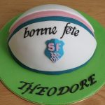 Gâteau ballon de rugby (faire un gâteau ovale sans moule ovale)