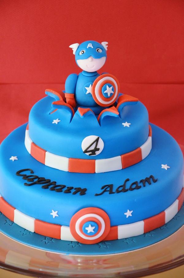 captain america cake 600x906