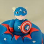 Gâteau Captain América