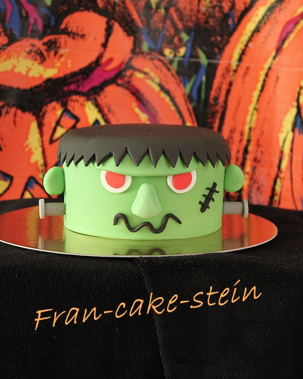 gateau frankenstein