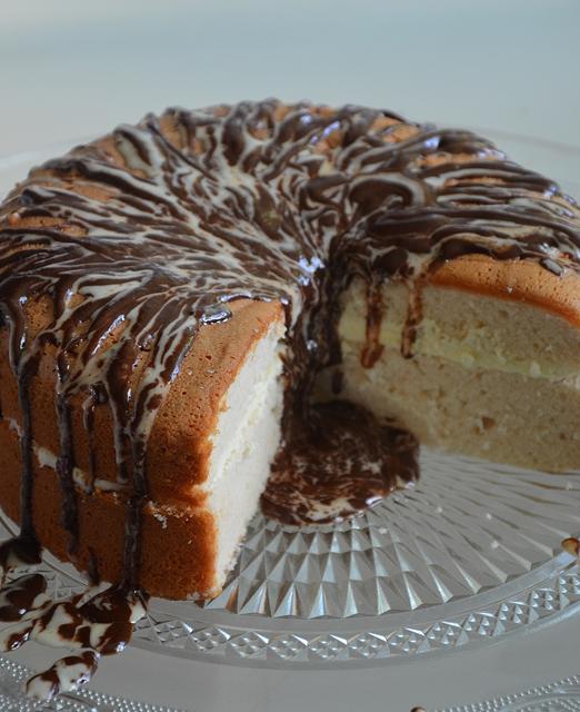 gâteau aux chamallows